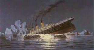 Reproducción del Titanic