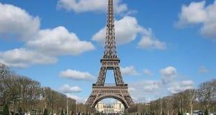 La reproducción de la Torre Eiffel