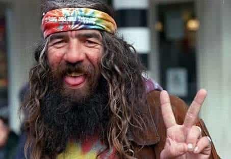 Hippie auténtico