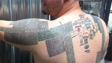 Photo of Record mundial de URLs tatuadas