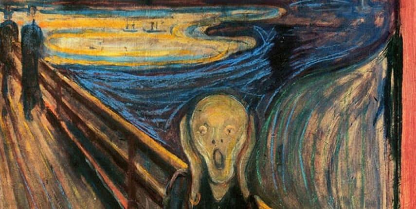 Vídeo de El Grito de Edvard Munch