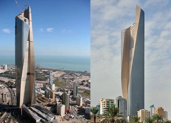 Photo of La torre de 412 metros de altura