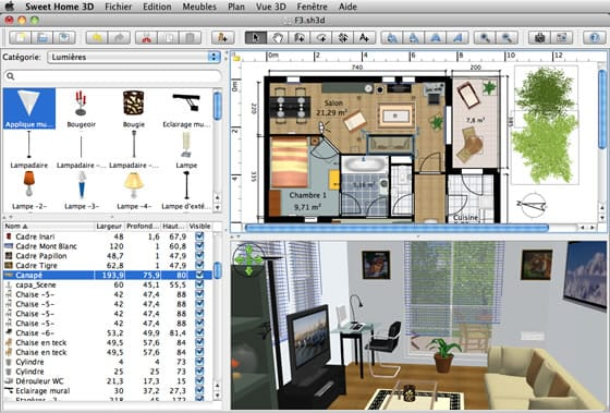 Sweet home 3d dise o de interiores for Diseno de interiores software