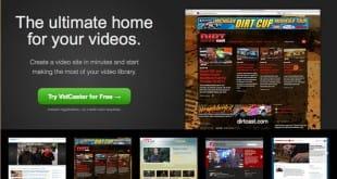 VidCaster, tu sitio web de vídeos