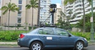 Una meada y Google Street