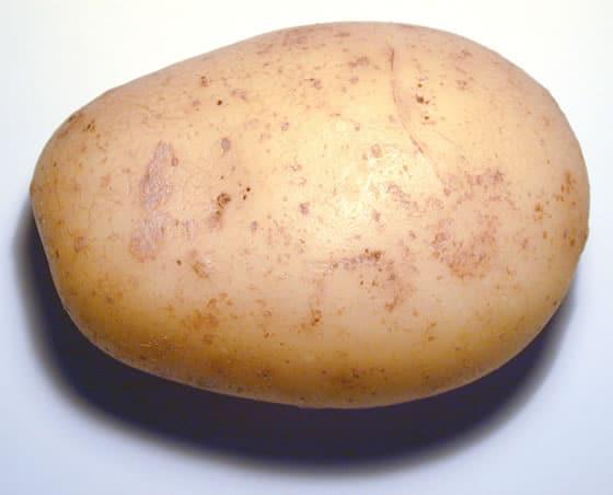 Cómo pelar una patata en diez segundos