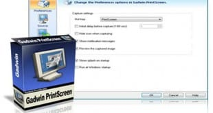 Gadwin PrintScreen, herramienta para captura de pantalla