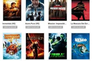 Alquiler de películas en Google Play