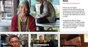 Proyecto Idiomas en peligro de extinción