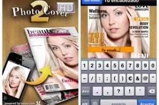 Diseña una portada de revista con Photo2Cover HD