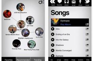 Descubre nueva música en tu iPhone o iPad