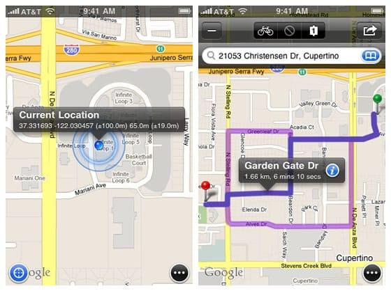 Mapas+, los mapas de Google en tu dispositivo iOS