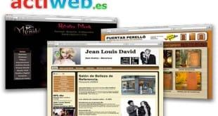 Crea webs gratis con Actiweb