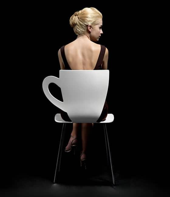 ¿En dónde está la taza?