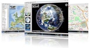 Marble Portable, atlas virtual
