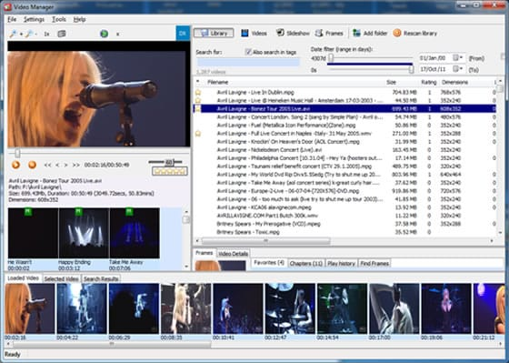 Saleen Video Manager, gestiona tus archivos de vídeo