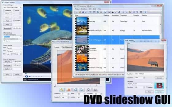 Crea atractivas presentaciones con DVD slideshow GUI