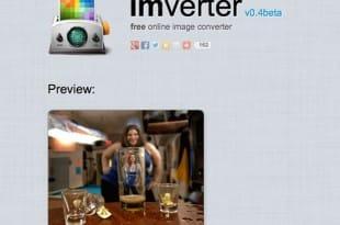 Imverter, conversor de imágenes en línea