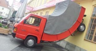 ¿Está borracho el camión?
