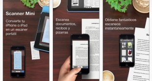 Scanner Mini para iPhone e iPad