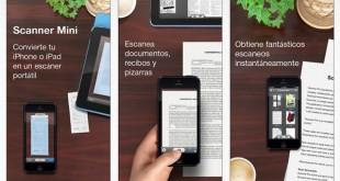 Scanner Mini para iPhone e iPad
