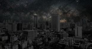 Ciudades bajo la luz de las estrellas