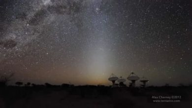 Photo of ASKAP Radio Telescopio