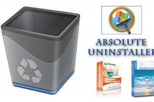 Absolute Uninstaller, desinstalación completa de aplicaciones