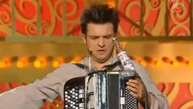 Así se toca el acordeón en Rusia