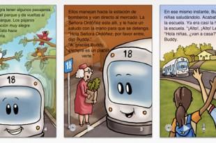 Buddy el Bus #1, viaja y aprende