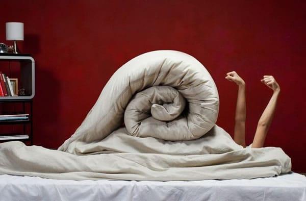 La postura del caracol
