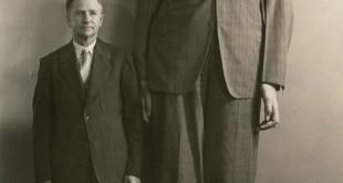 Los diez hombres más altos de la historia