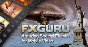 FxGuru, efectos especiales para tus vídeos