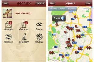 Geonick lanza su aplicación para iPhone
