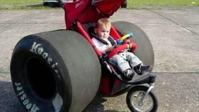 Photo of Un original carrito de bebé