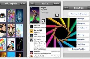 Dibujar, pintar y compartir fotos con DrawCast
