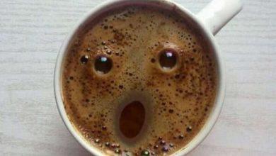 Aterrorizado café