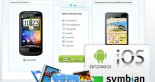 Transferir información de un móvil a otro con Wondershare MobileTrans