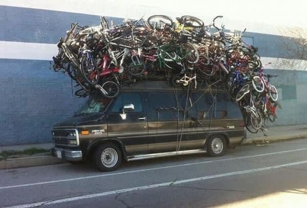 ¿Cuántas bicicletas hay?