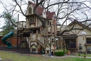 Una impresionante casa árbol