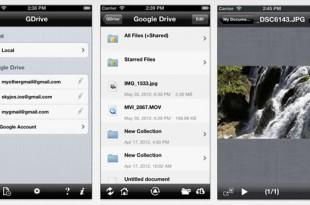 GDrive, gestiona Google Drive desde tu móvil