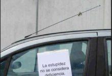 Photo of Debemos respetar los aparcamientos reservados a minusválidos