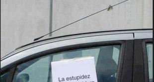 Debemos respetar los aparcamientos reservados a minusválidos
