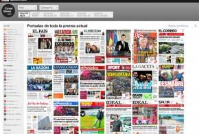 Las portadas de los periódicos en Covertimes