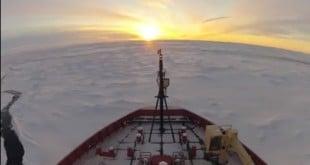 Dos meses en la Antártida en cinco minutos