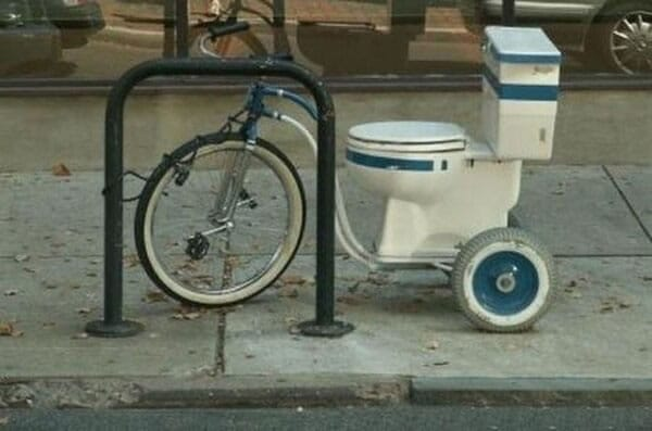 Photo of Una water bicicleta