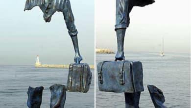 Esculturas humanas incompletas