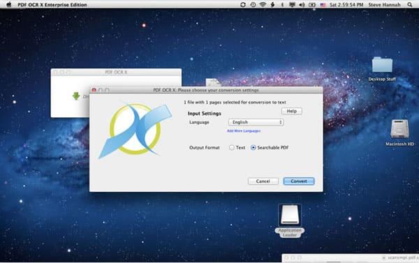 PDF OCR X, para convertir imágenes y PDFs en documentos de texto