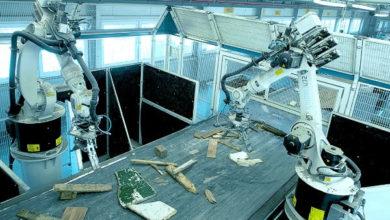 Robot para reciclar residuos