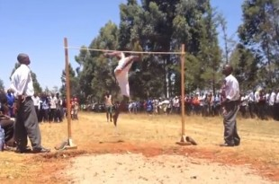 Salto de altura en Kenia